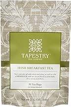 Tapestry Tea Company Irish Breakfast Black Tea Bags Full Bodied Traditional Irish Tea - 30 Count