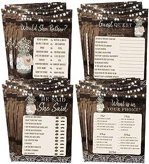 Best mason jar rustic wedding invitations Reviews