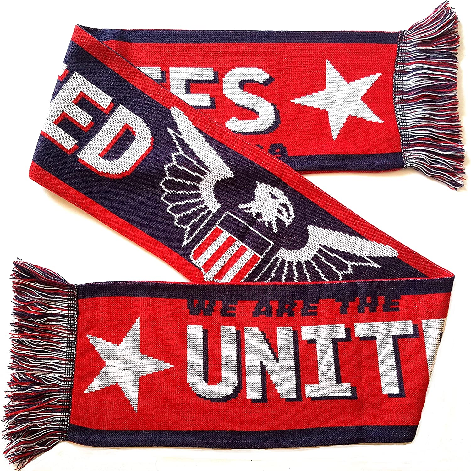 Cheap SALE Start USA Soccer Scarf Knit Free shipping anywhere in the nation