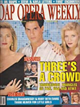 Brenda Epperson, Don Diamont, Barbara Crampton, Young and the Restless, Charles Shaughnessy and Mary Beth Evans - August 7, 1990 Soap Opera Weekly Magazine