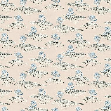 PBS Fabrics Little Blooms, Blue