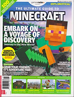 Games Radar Presents The Ultimate Guide to Minecraft Magazine Volume 15 September/October 2017