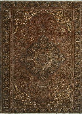 Noori Rug Fine Vintage Concetta Rust/Brown Rug, 8'1 x 10'9