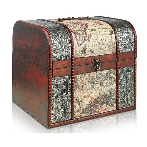 Brynnberg - Boîte De Rangement Coffre Au Trésor - 27x23,5x24,5cm