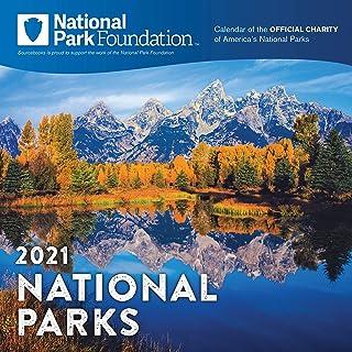2021 National Park Foundation Wall Calendar: A 12-Month Nature Calendar & Photography Collection (Monthly Calendar)