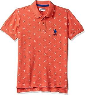 USPA Boy's Plain Regular Fit T-Shirt