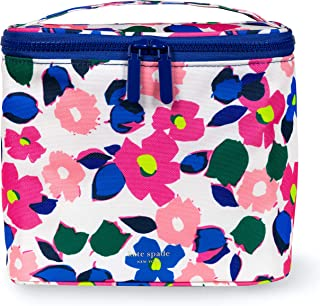 Kate Spade New York Insulated Floral Soft Cooler Lunch Tote with Double Zipper Close and Carrying Handle, Botanical Garden