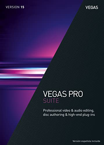 VEGAS Pro 15 Suite – Professional video & audio editing, disc authoring & high-end plug-ins [Download]