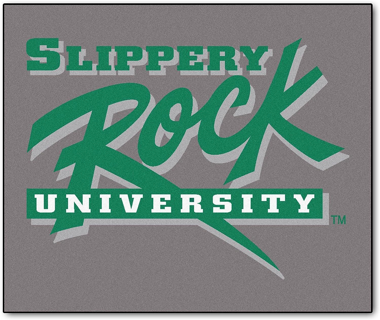 NCAA Slippery Rock University Rock Nylon Face Tailgater Rug
