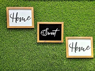Glorieux Art Wall Hanging Decor Home Sweet Home Sign Quote Frame Printed Wooden Wall Hanging, Door Hangings for Home Decor...