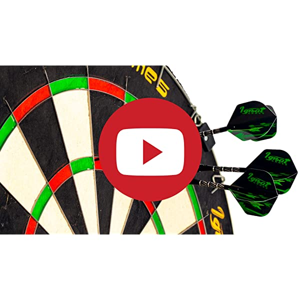 Steel Tip Darts Set with dart board