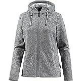 Jack Wolfskin Damen Finley Jacket Women Sweatshirt, Slate Grey, L
