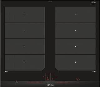 Siemens ex675lxe3e 桌面 感应式 黑色, 不锈钢 炉灶