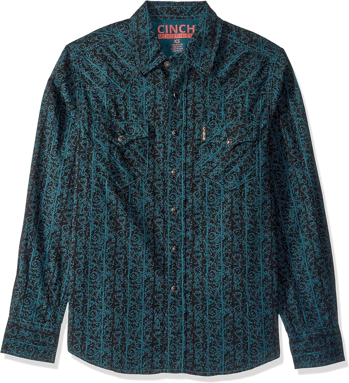 Cinch Men's Modern Western Fit Shirt