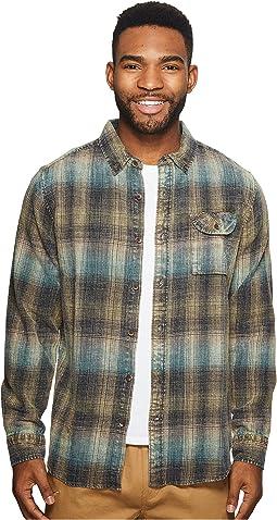 VISSLA - Sabroso Long Sleeve Flannel Top