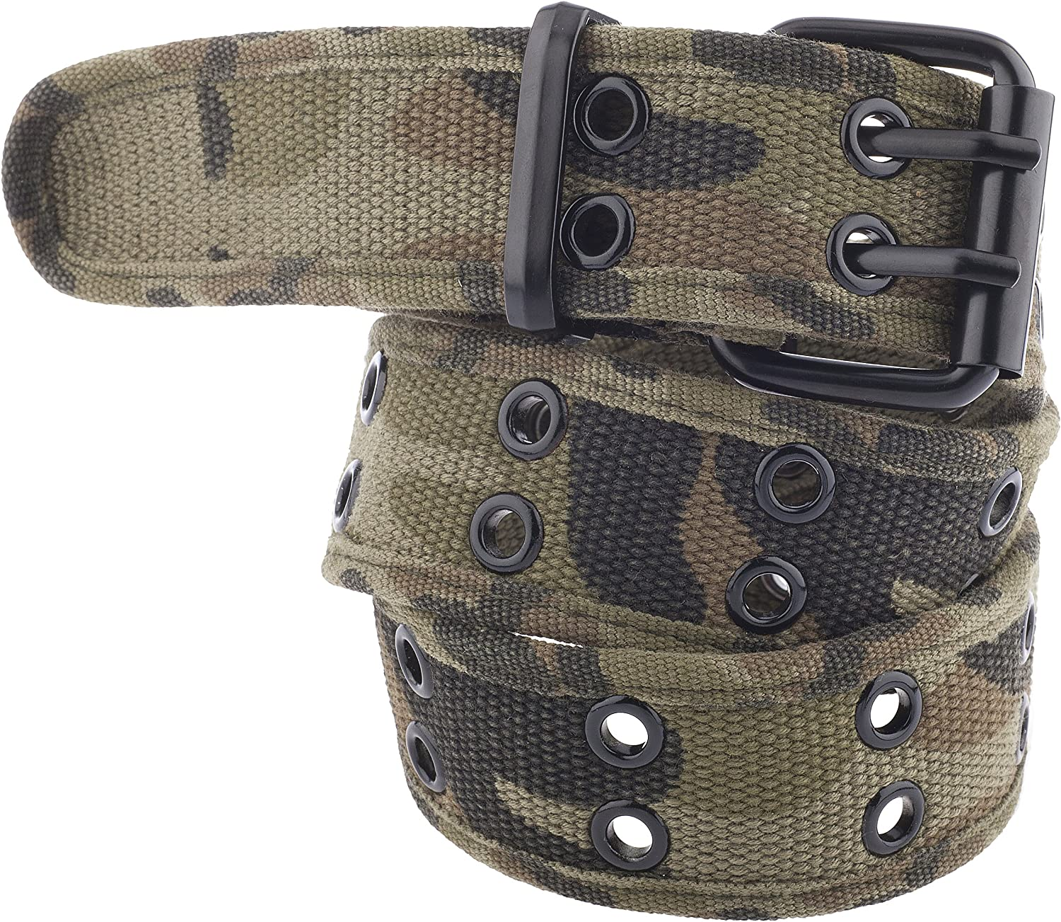 Kids Canvas Two-Hole Belt - Available in 12 Colors