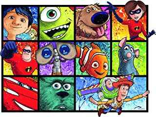Ravensburger 13993 Disney Pixar Splatter Art 1000 Piece Puzzle for Adults, Every Piece is Unique, Softclick Technology Means Pieces Fit Together Perfectly