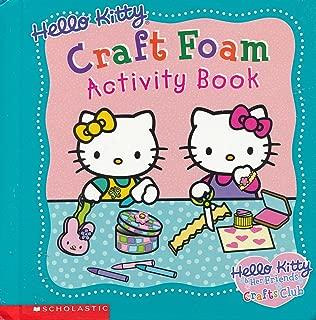 Hello Kitty Craft Foam Activity Book