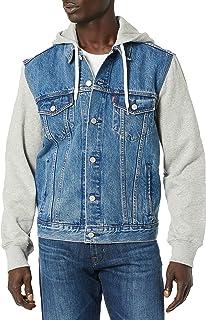 Men's Hooded Trucker Jacket