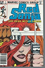 Red Sonja #1 volume 3 Very Fine 1983 Marvel featuring Red Sonja