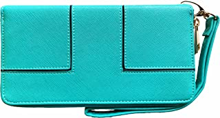 Ferrarany Leather Wallets for all your essentials with Removable Wristlet Clutch