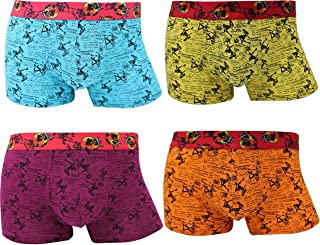 Men's Sports Lightweight Underwear Breathable Travel Boxer Briefs