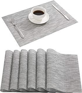 Best light grey table mats Reviews