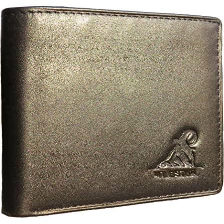 Mt. Eston RFID Blocking, Wallet Men's, 18 Pocket, Black, One size