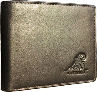 RFID Blocking Trifold Bifold Mens Wallet, 18 Pocket Extra Capacity