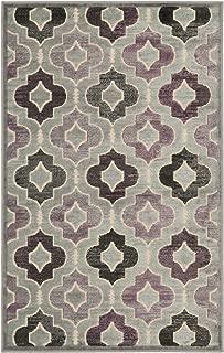 Safavieh Paradise Collection PAR165-740 Grey and Multi Viscose Area Rug (2'7