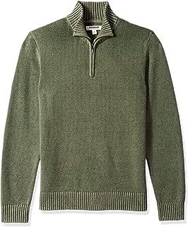 Men's Soft Cotton Quarter Zip Sweater