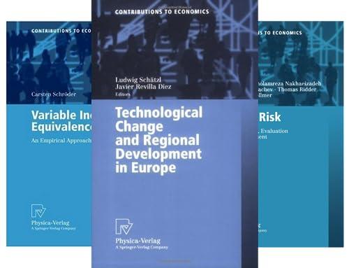 Contributions to Economics (51-100) (50 Book Series)