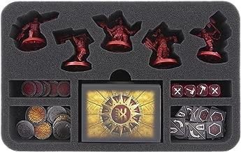 Feldherr HSMEBA040BO 40 mm foam tray for Warhammer Underworlds Shadespire: Khorne Bloodbound