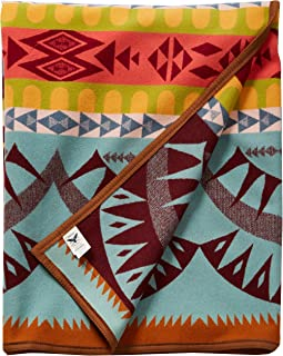 Pendleton Point Reyes Blanket - Aqua/Multi, Twin, 64x80