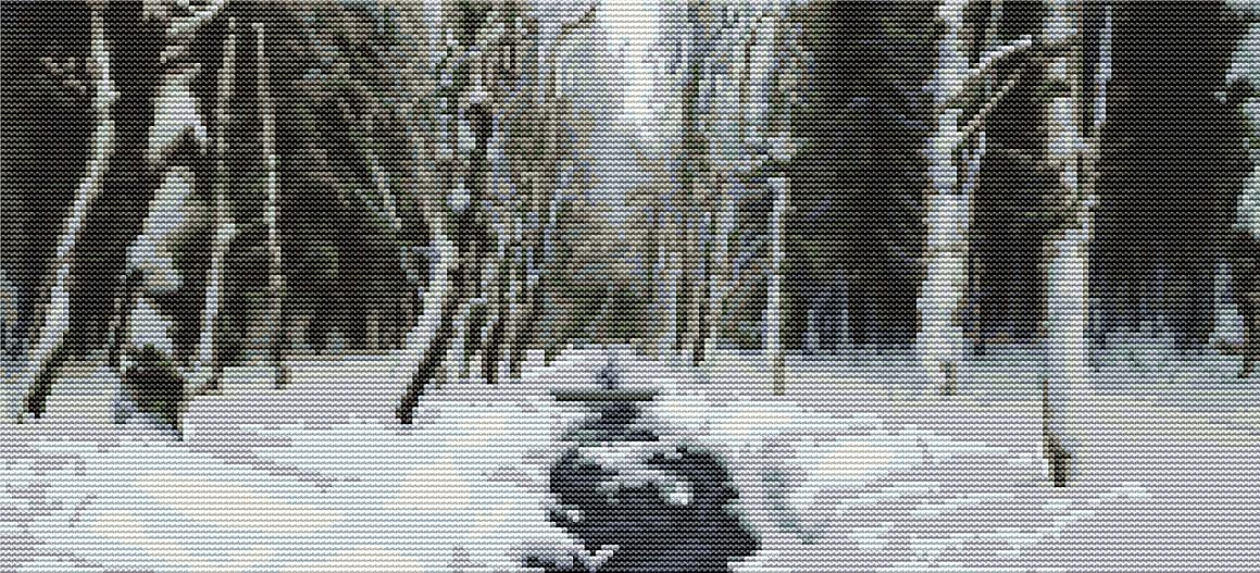 Woodland Winter Counted Cross Stitch Kit By Orcraphics