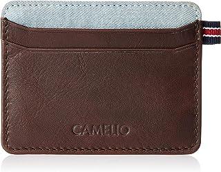 CAMELIO Brown Card Case (CAM-WL-0016)