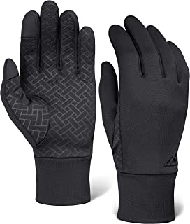 Touch Screen Running Gloves for Men & Women – Thermal Winter Glove Liners for..