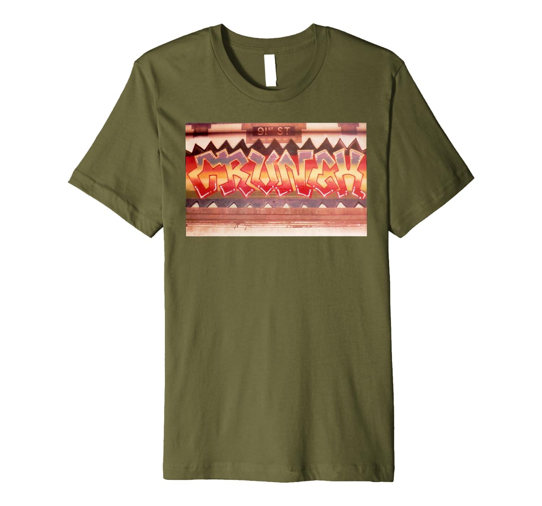 """CRUNCH"" (Ghost Station) Premium T-Shirt"