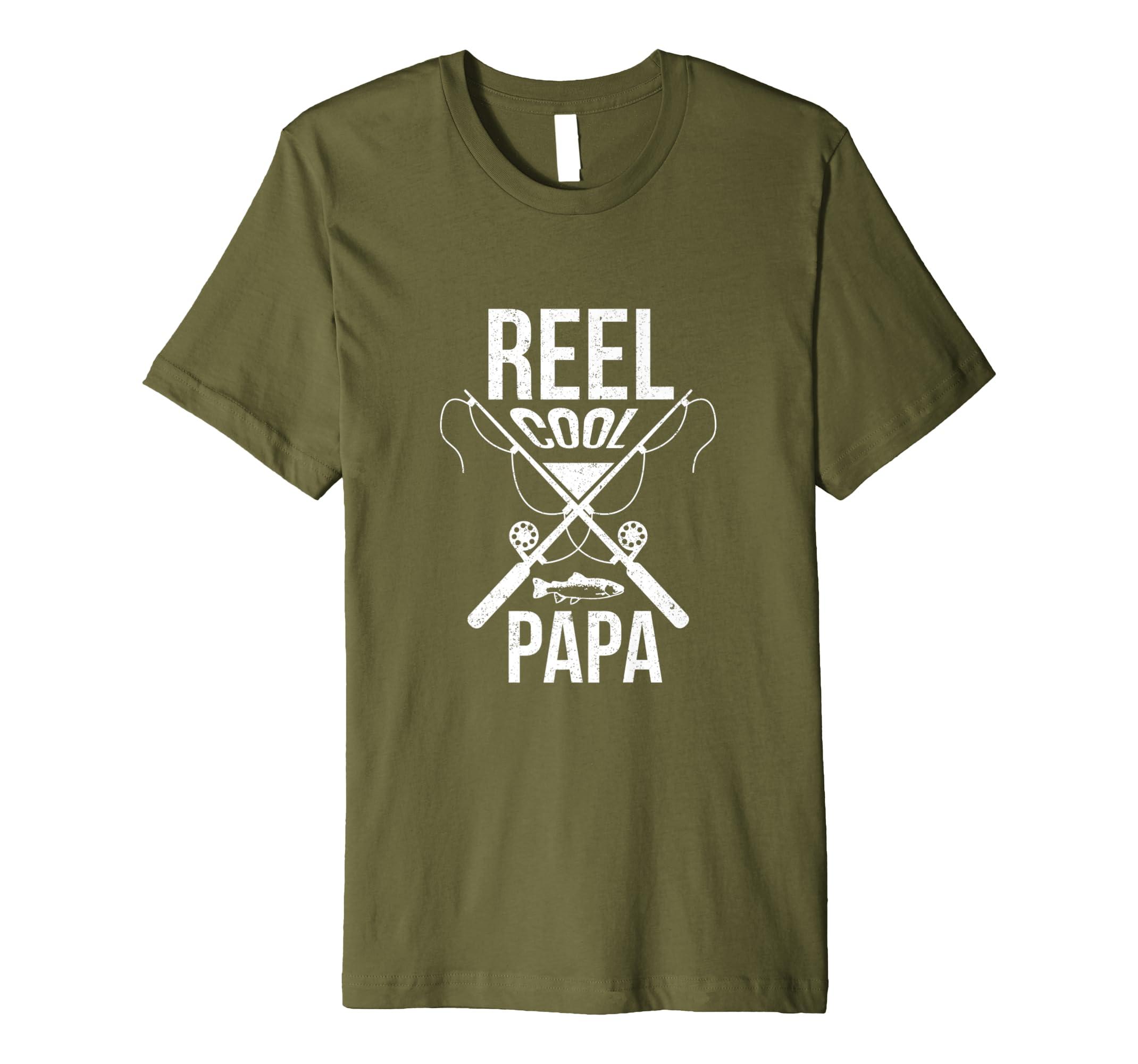 Spulen-kühler Papa-T-Shirt Vatertag Geschenk: Amazon.de: Bekleidung