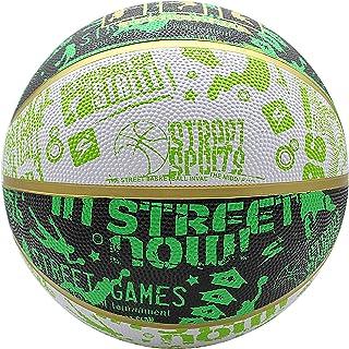 JYMingde Street Basketball Indoor Outdoor Cool Graffiti Basketball Official Size 7/ Size 5