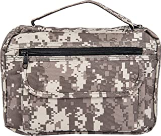 B&F Bible Cover with Extra Zippered Compartments, to Protect The Good Book, Digital Camouflage