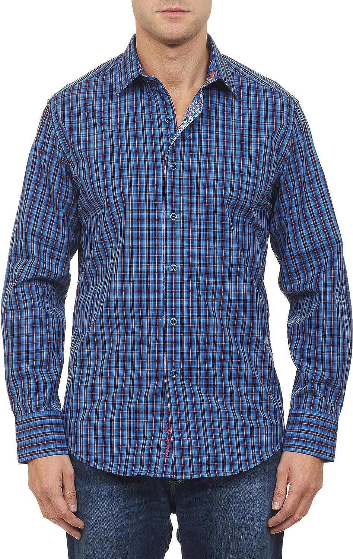 Robert Graham Men's Clark Jr. Long-Sleeve Button-Down Shirt