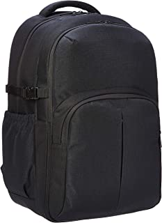 AmazonBasics Urban Laptop Backpack, 15 Inch Notebook Computer Sleeve, Black