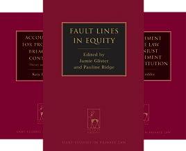 Hart Studies in Private Law (31 Book Series)