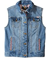 Lucky Brand Kids - Denim Vest w/ Embroidery (Little Kids)