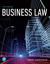 Business Law (What's New in Business Law)