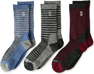 Free Country Boys' 3-Pack Crew Socks