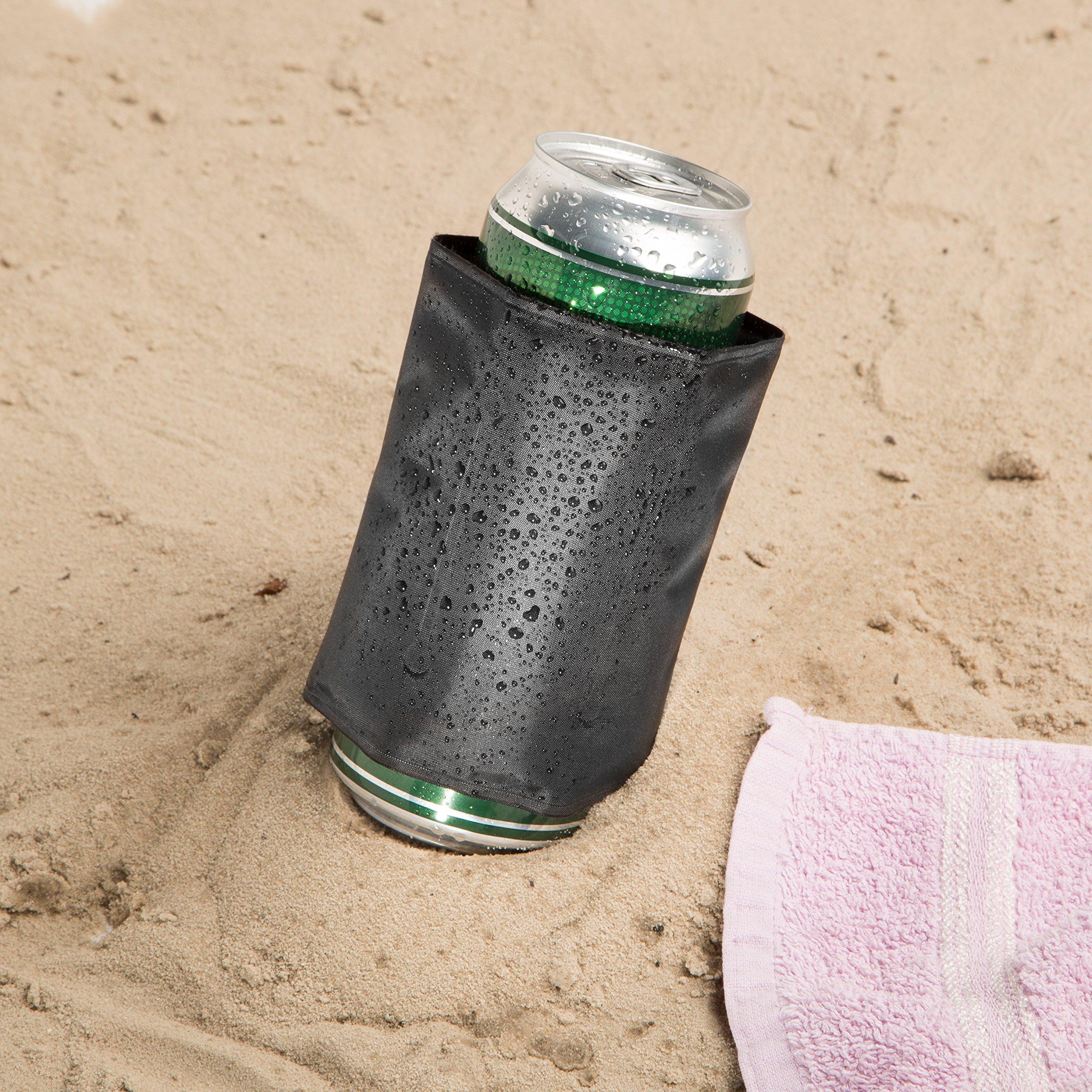 Compra LEVIVO CD07 Funda enfriadora de latas, tamaño Compacto, con ...