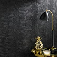Graham & Brown 32-659 Crocodile Black Wallpaper