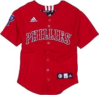 MLB Philadelphia Phillies Screen Print Baseball Jersey Boys'